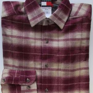 NWT Vintage Tommy Hilfiger Flannel Shirt Size M